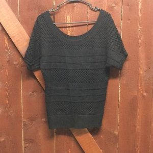 Guess slouchy short sleeve sweater